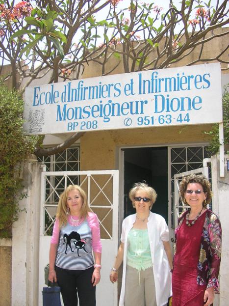 Ecole d'infirmiers, Thiès, Sénégal