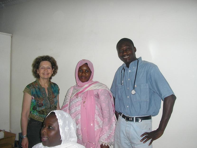 Consultation au dispensaire de Thiès, Sénégal